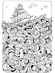 Various 18 Absurdly Whimsical Adult Coloring Pages Nerdy Mamma HD Images 2017 2018