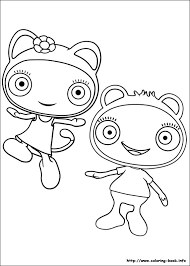 Cbeebies Colouring Pages To Print 17 Waybuloo Coloring On