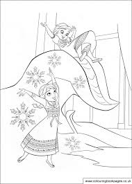 35 Free Disney Frozen Colouring Pages And Games