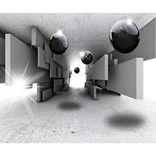 vlies leinwand bilder abstrakt modern kugel 3d wandbilder