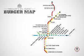 Seven Lamps Atlanta Ga by Atl U0027s First Burger Transit Map The Best Burger In Atlanta At
