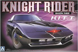 Amazon.com: Aoshima Models Knight Rider 2000 K.I.T.T. Season 3 ...