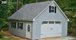e Car Two Story Garage Two Story Prefab Garages