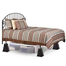 Extra Tall Bed Risers Adjustable Height Dorm Bedding Accessory