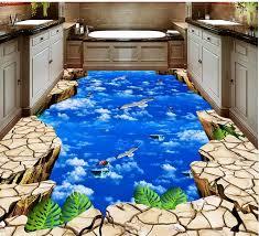3d weiß wolken himmel vögel 3d tapete selbstklebende vinyl böden wohnzimmer schlafzimmer fototapete