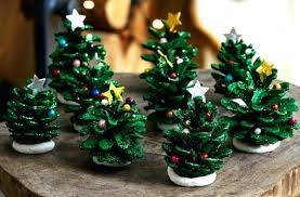 Pine Cone Christmas Lights Tree Craft How To Make A With
