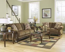 Ashley Larkinhurst Sofa And Loveseat by Montgomery Mocha Sofa U0026 Loveseat 38300 35 38 Living Room