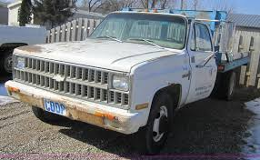 100 1981 Chevy Truck For Sale Chevrolet C30 Custom Deluxe Flatbed Pickup Truck Item