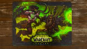 unboxing world of warcraft legion insert coin