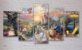 Disney Princess Canvas Wall Art Inspirational Wonderful Design Ideas Decoration