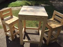 How To Build Wooden End Table by More Like Home Day 23 Build A Chunky Bar Stool