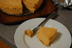 Pumpkin Pie With Gingersnap Crust by Sous Vide Pumpkin Cheesecake With Gingersnap Crust