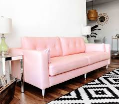 Sofa Pink by Incredible Mid Century Soft Pink Sofa For Sale And Century Song