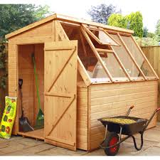 8x6 Wood Storage Shed by Greenhouses U2013 Next Day Delivery Greenhouses