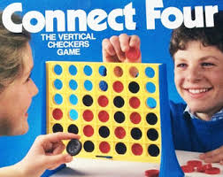 SALE Vintage Connect Four Milton Bradley 1990 100 Complete Classic Game Toy