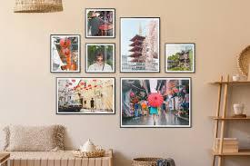 fotowand ideen und fertige bilderwand sets myposter