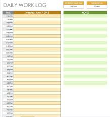 Template Schedule Daily Project Printable