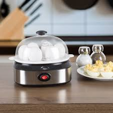 100 Cuisine Steam MultiFunction Electric Egg Cooker With 7 Egg Capacity And Automatic Shut Off By Classic