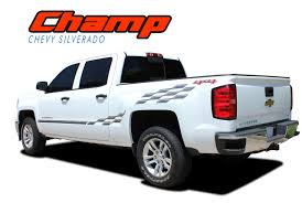 Chevy Silverado Side Door Vinyl Graphic Stripe Decal | CHAMP 2014-2018 Vehicle Wraps Seattle Custom Vinyl Auto Graphics Autotize Fleet Lettering Ford F150 Predator 2 Fseries Raptor Mudslinger Side Truck Bed Tribal Car Graphics Vinyl Decal Sticker Auto Truck Flames 00027 2015 2016 2017 2018 Graphic Racer Rip 092018 Dodge Ram Power Hood And Rear Strobes Shadow Chevy Silverado Decal Lower Body Accent Apollo Door Splash Design Rally Stripes American Flag Decals Kit Xtreme Digital Graphix 002018 Champ Commerical Extreme Signs Solar Eclipse Inc