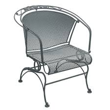 Woodard Briarwood Wrought Iron Coil Spring Barrel Chair | 400088 42 Black Metal Outdoor Fniture Ding Phi Villa 300lbs Wrought Iron Patio Bistro Chairs With Armrest For Genbackyard 2 Pack Wrought Iron Garden Fniture Mainstays 3piece Set Gorgeous Patio Design Using Black Chair And Round Table With Curving Legs Also Fabric Arlington House Chair Commercial Sams Club 2498 Slat At Home Lck Table2 Chairs Outdoor Gray Mesh Back