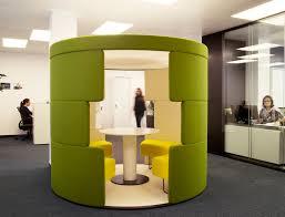 deco bureau entreprise cocoon idea for open spaces by cléram style design bureau