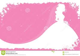 Wedding Dress clipart border 8