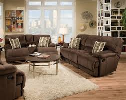 chion chocolate reclining sofa loveseat living rooms