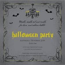 Free Halloween Invitation Templates Microsoft by Invitation Templates Halloween Party Image Collections