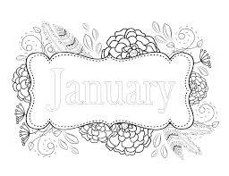 Unique January Coloring Pages 55 On Free Colouring With