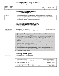 Graduate Rn Resume Objective by Resume Exle Sle Resume For Registered Nurses With No