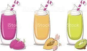 Milkshake Clipart Fruit Shake 2