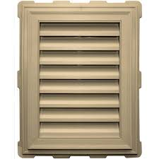 gable louvered vents roofing attic ventilation the home depot