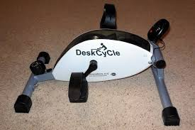Pedal Exerciser Under Desk by Deskcycle Bike Pedaling Exerciser Product Review