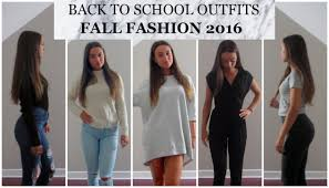 Cute Outfits Of The School Week