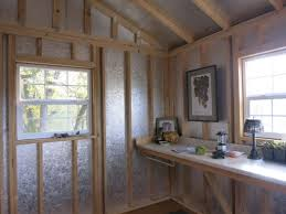 Tuff Shed Cabin Interior by Building The Missing Piece Tuff Shed