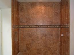 how to support 2nd row of tiles on shower walls over redguard