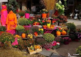 vitrine fete des meres fleuriste couleurs d automne chez mon fleuriste aux petits bonheurs d arielle