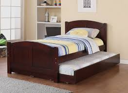 Bedroom Twin Trundle Bed With Storage