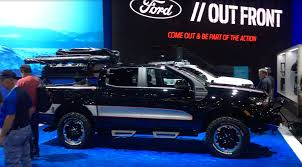 100 Trucks Plus Yakima Fords SEMA Display Of 2019 Rangers Part 2 Medium Duty Work Truck