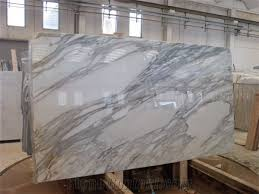 A Grade Calacatta Carrara Italy White Marble Slabs Polished High GlossyBianco Tiles For Bathroom Walling TilesFloor Covering Pattern