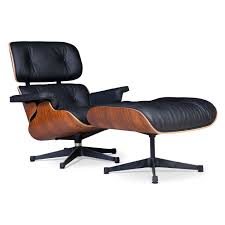 Eames Style Lounge Chair & Ottoman-Black | Worldmoderndesign.com Eames Lounge Ottoman Retro Obsessions A Short Guide To Taking Excellent Care Of Your Eames Lounge Chair Italian Leather Light Brown Palisandro Chaise Style And Ottoman Rosewood Plywood Modandcomfy History Behind The Hype The Charles E Swivelukcom Chair Was Voted A Public Favorite In Home Design Ottomanblack Worldmorndesigncom Molded With Metal Base By Vitra Armchair Blackpallisander At John