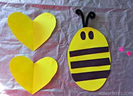 Bee Mine Valentines Day Craft For Kids