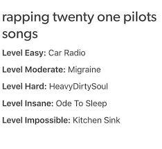 Extjs Kitchen Sink 65 by Twenty One Pilots Rap Levels Google Search Bands Pinterest