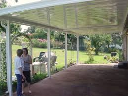 Flat Panel Metal Patio Cover Yelp