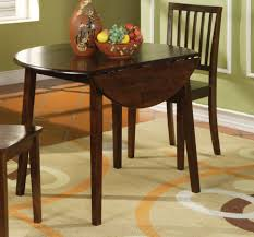100 Round Oak Kitchen Table And Chairs Small Wood Drop Leaf Painted With Dark
