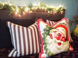 Tj Maxx Christmas Throw Pillows by 2017 Deck The Halls Christmas Tour Kimberly U0027s Home Diamonds Or