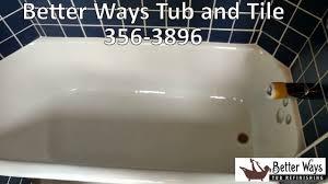 Reglazing Sinks And Tubs by Bathtub Refinishing Westbrook Tub And Tile Refinishing Westbrook