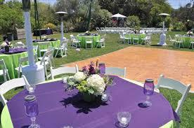 U Gray Rustic Chic Purple Garden Wedding Ideas Ceremony Decor