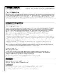 Office Manager Resume Of Church Administrator For Sample