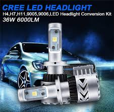 new bright 12000 lumen 72w h4 high low dual beam 8g car led